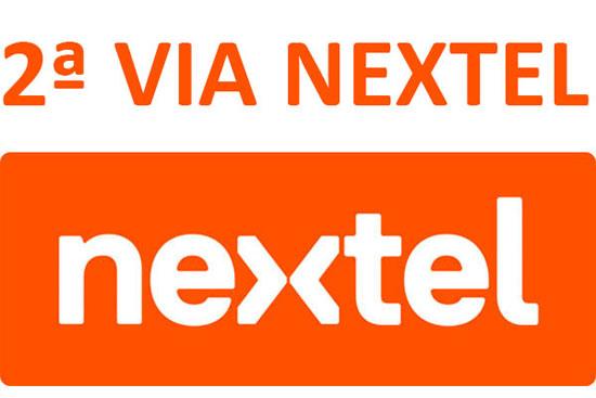 2ª Via Nextel Fatura Atualizada